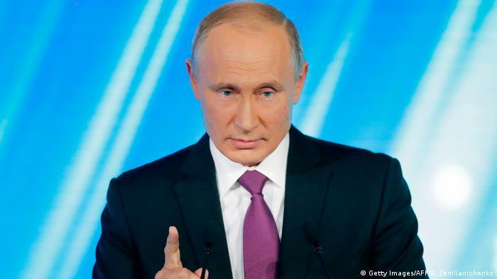 Russland Sotschi Putin-Rede