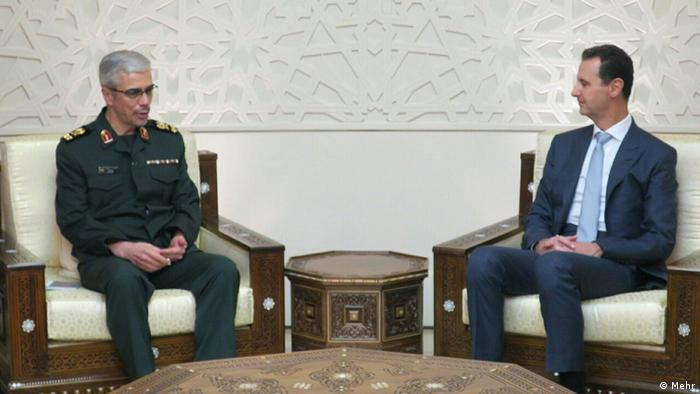 Mohammad Bagheri Bashar Assad Iran Syrien (Mehr)