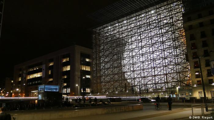 Belgien Brüssel Europa-Gebäude Space Egg