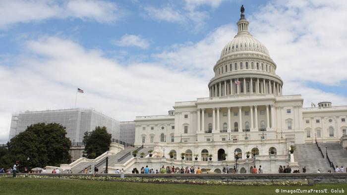 USA Kapitol in Washington (Imago/ZumaPress/E. Golub)