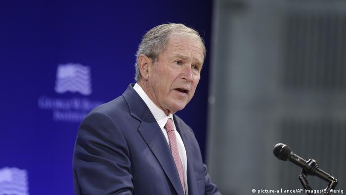 Former US President George W. Bush takes aim at Donald ...
