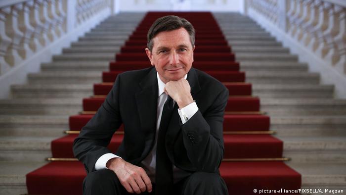 Slowenien Borut Pahor Präsident