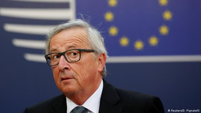 EU Commission President Jean-Claude Juncker
