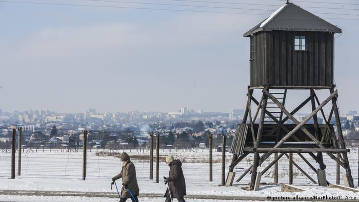 Antigo campo de concentração Majdanek, na Polônia