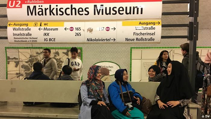 Studie Reise Life of Muslims in Germany (DW)