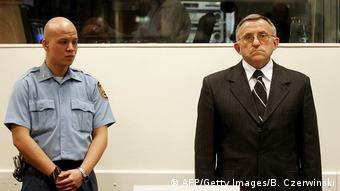 Ehemaliger serbischer General und Kriegsverbrecher Vladimir Lazarevic (AFP/Getty Images/B. Czerwinski)