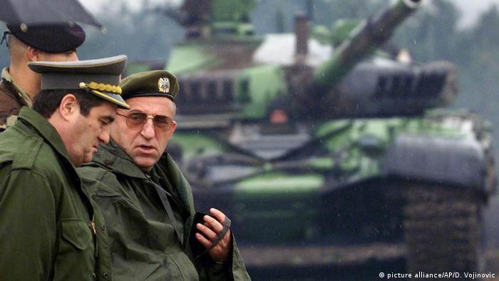 Früherer serbischer General und Kriegsverbrecher Vladimir Lazarevic