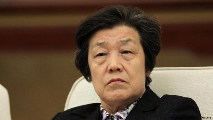 Chinesische Justizministerin Wu Aiying (Reuters)