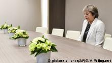EU-Gipfel Brexit Theresa May (picture alliance/AP/G. V. Wijngaert)
