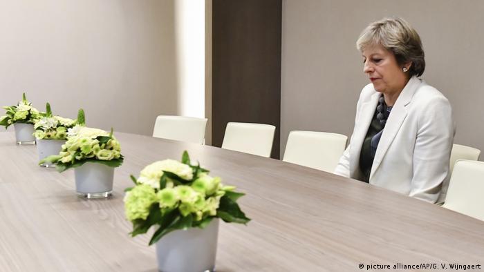 EU-Gipfel Brexit Theresa May