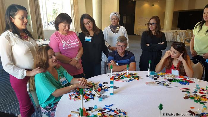 DW Medientraining in Tunesien   Lego Serious Play