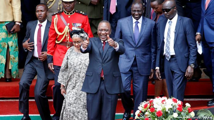 Kenia Päsident Kenyatta