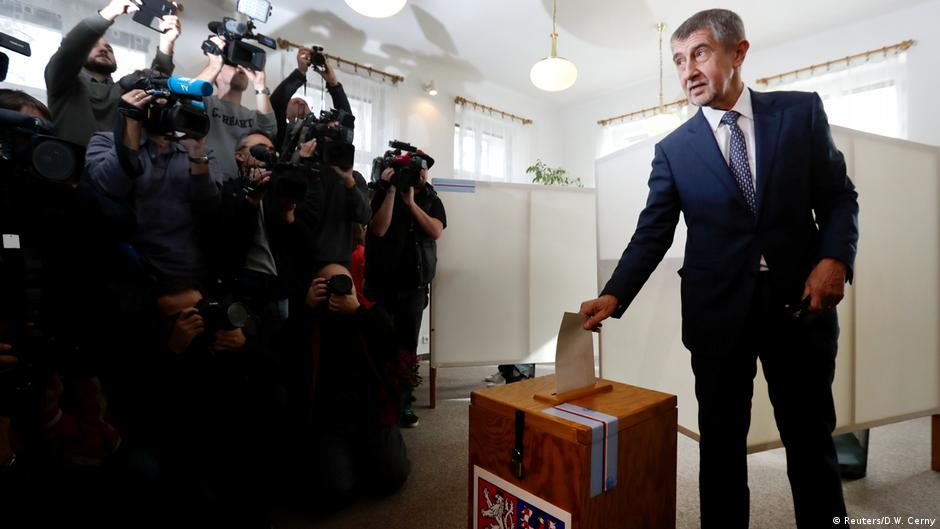 Czech Trump and insurgent parties benefit from 'voting hurricane' in Czech Republic election