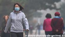 China Smog in Shenyang (picture-alliance/dpa/Imagechine/J. Xu)