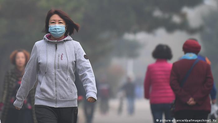 China Smog in Shenyang (picture-alliance/dpa/Imagechine/J. Xu)