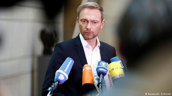 Deutschland Jamaika-Koalition Sondierungsgespräche   Christian Lindner, FDP (Reuters/A. Schmidt)