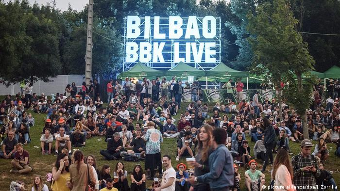 Bilbao BBK Live Music International Festival - Reiseziel Bilbao (picture alliance/dpa/J. Zorrilla)