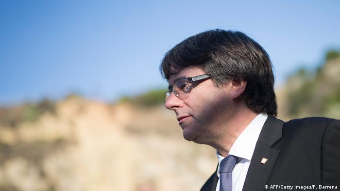 Portrait Carles Puigdemont (AFP/Getty Images/P. Barrena)