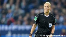 Fußball FC Schalke 04 v 1. FSV Mainz 05 - 1. Bundesliga Schiedsrichterin Bibiana Steinhaus