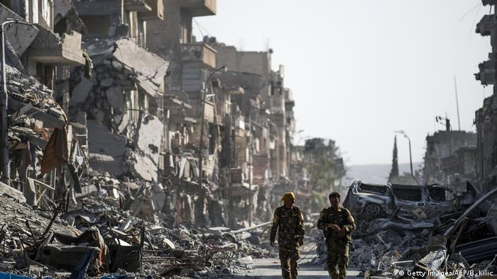 Syrien Raqqa - Raqqa nach der Befreiung vom IS (Getty Images/AFP/B. Kilic)
