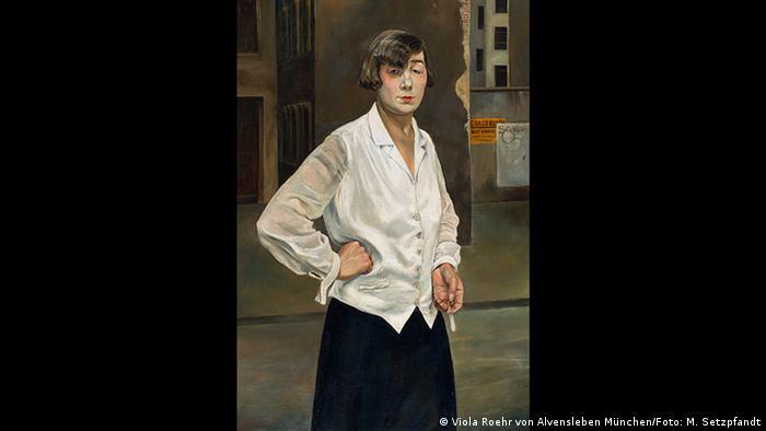 Rudolf Schlichter, Margot, Berlin, 1924 (Viola Roehr von Alvensleben München/Foto: M. Setzpfandt)