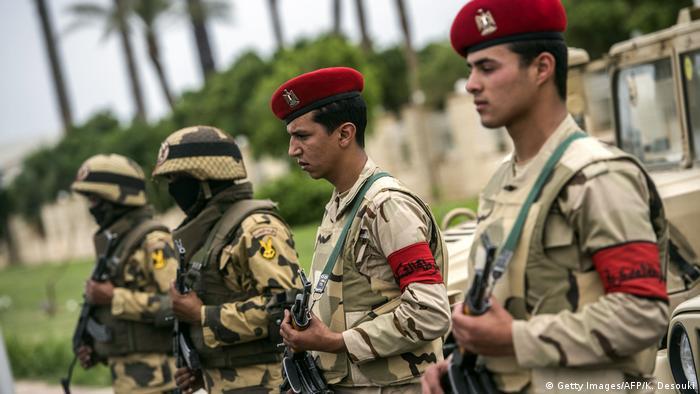 Ägypten - Ägyptische Soldaten (Getty Images/AFP/K. Desouki)