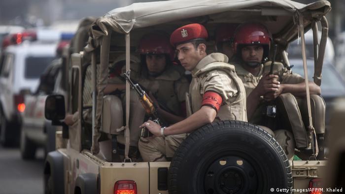Ägypten - ägyptische Sicherheitseinheiten in Kairo