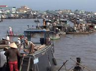 流经越南段的湄公河