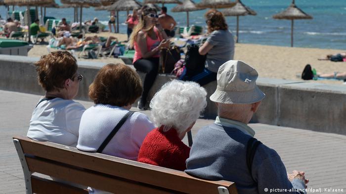 Немецкие пенсионеры на Мальорке