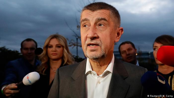 Tschechien Wahl Andrej Babis, ANO Partei (Reuters/D.W. Cerny)