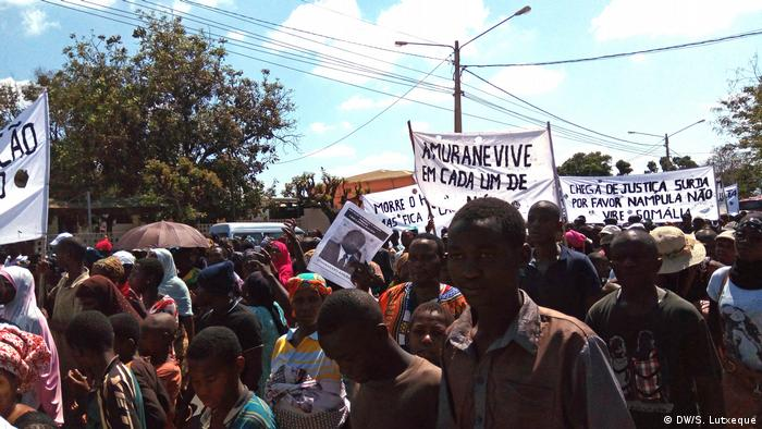 Mosambik Proteste in Nampula