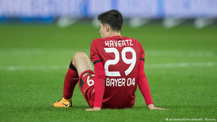 Bayer Leverkusen Kai Havertz (picture-alliance/dpa/S. Stache)