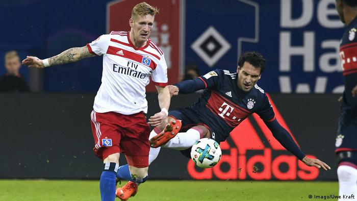 1. Bundesliga 9. Spieltag | Hamburger SV - Bayern München | Andre Hahn, HSV (Imago/Uwe Kraft)