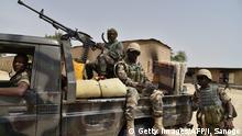 Niger Soldaten