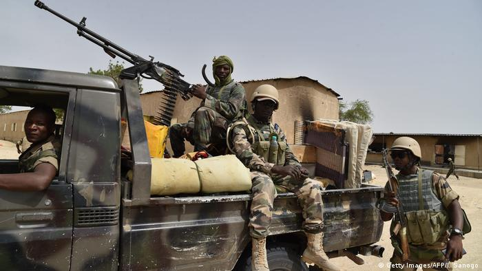 Niger Soldaten (Getty Images/AFP/I. Sanogo)