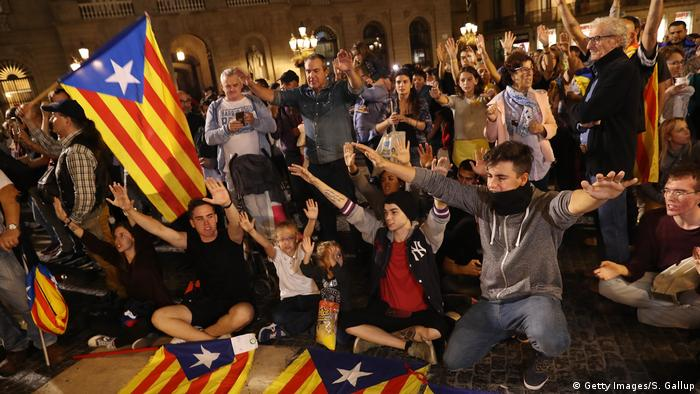 Pro-independence demonstration (Getty Images/S. Gallup)