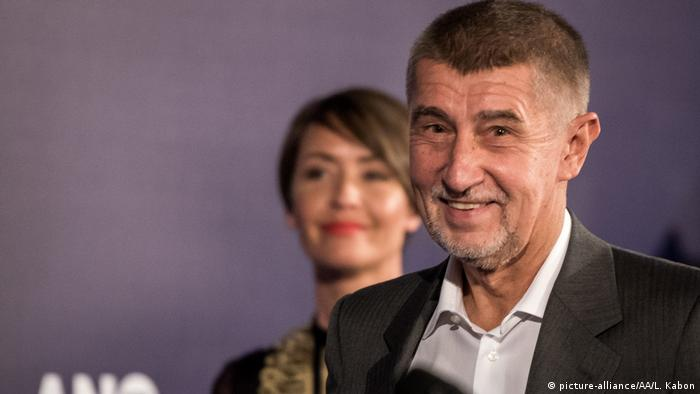 Tschechien Wahl Andrej Babis, ANO Partei (picture-alliance/AA/L. Kabon)