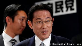 Japan LDP-Programmchef Fumio Kishida in Tokio
