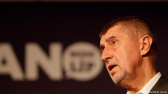 Tschechien Wahlsieger Andrej Babis, ANO Partei (Reuters/D.W. Cerny)