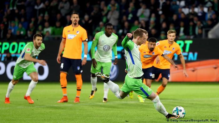 1. Bundesliga 9. Spieltag | VfL Wolfsburg - 1899 Hoffenheim (Getty Images/Bongarts/M. Rose)