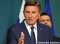 Президент Словенії Борут Пахор (архівне фото)