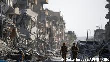 Syrien Raqqa - Raqqa nach der Befreiung vom IS