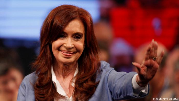 Cristina Fernandez de Kirchner, Argentina's former president, campaigned on a platform of stopping Macri's pro-business agenda to revise the economy