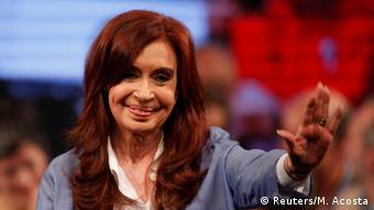 Cristina Fernandez de Kirchner (Reuters/M. Acosta)