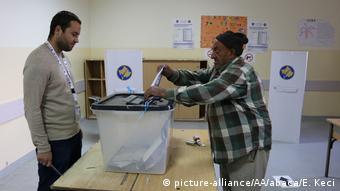 Kosovo Lokalwahlen (picture-alliance/AA/abaca/E. Keci)