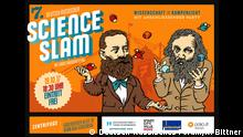 Bonn - Deutsch-Russischer Science Slam am 19.10.2017 - Infoposter von deutsch-russischen Forum Copyright: Deutsch-Russisches Forum/Roman Bittner