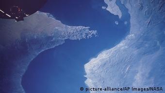 Τα στενά του Ορμούζ σε παλαιότερη φωτογραφία της NASA