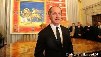 Veneto President Luca Zaia
