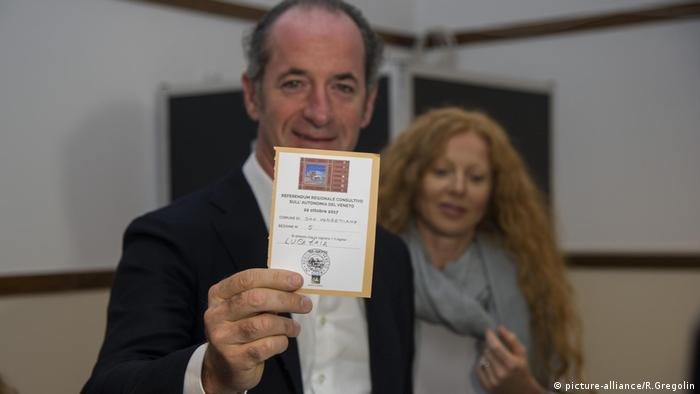 Referendum über mehr Autonomie in Italien (picture-alliance/R.Gregolin)