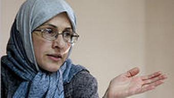 Koolaii Iranische Expertin für das Kaspische Meer